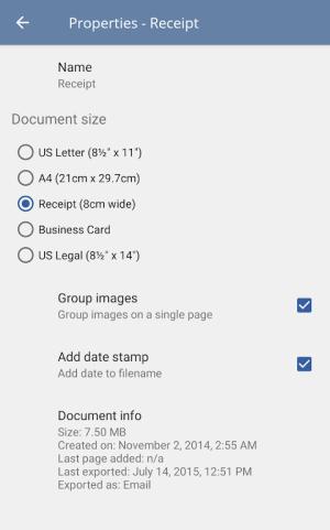 TurboScan: scan documents & receipts in PDF 1.5.7 Screen 13