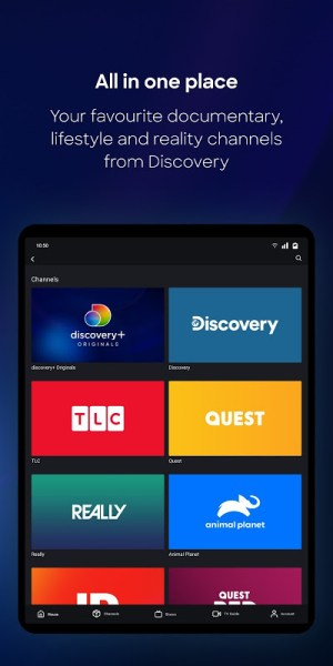 discovery+ 2.1.0 Screen 11