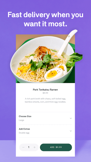 Android Postmates - Local Restaurant Delivery & Takeout Screen 1