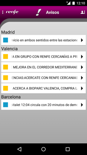 Renfe Cercan?as 1.92 Screen 1