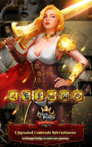 Clash of Kings : Newly Presented Knight System 6.11.0 Screen 1