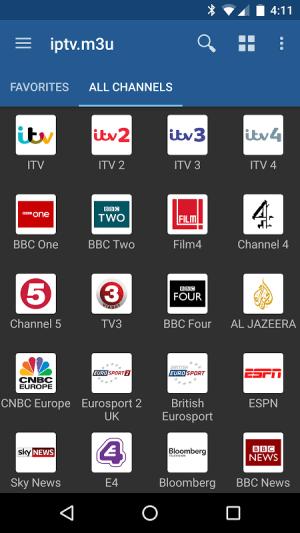 IPTV Pro 3.5.0 Screen 2