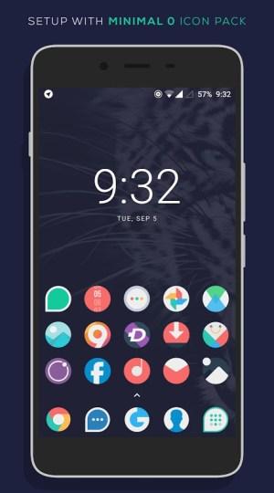 Minimal O - Icon Pack 3.1 Screen 6
