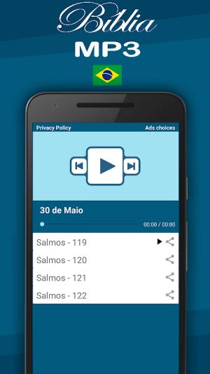 Bíblia MP3 Português 37.0 Screen 1