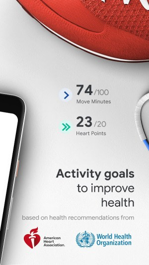 Google Fit: Health and Activity Tracking 2.28.24-130 Screen 1