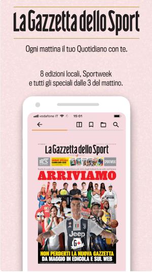 La Gazzetta dello Sport - Il Quotidiano 4.6.1 Screen 2