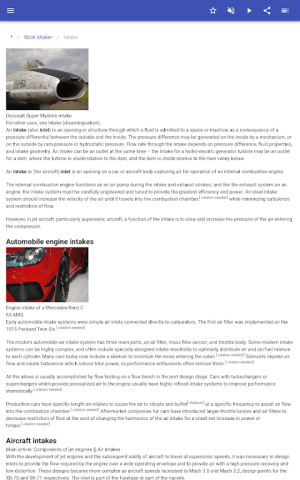 Construction of aircraft 8.5.4 Screen 11