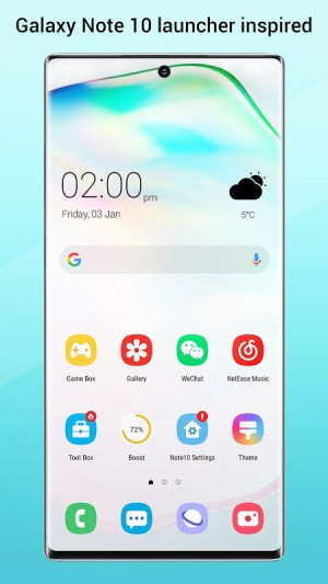 Perfect Note10 Launcher for Galaxy Note,Galaxy S A 2.9 Screen 3