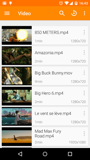 VLC for Android 3.3.0 RC 3 Screen 4