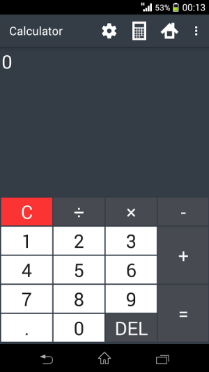 Building calculator 1.9.0 Screen 5