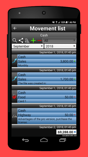 Daily Expenses 2: Personal finance 2.6.74 Screen 18