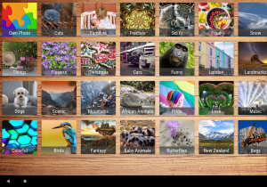 Android Ultimate Jigsaws Screen 6