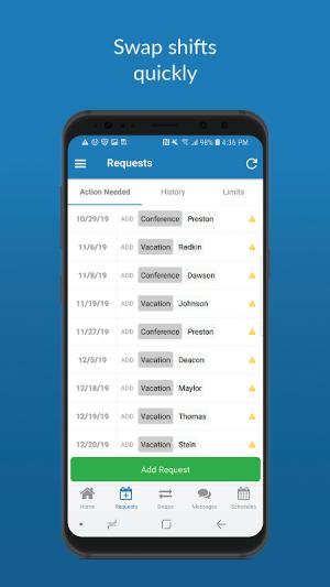 QGenda 3.70.3328 Screen 5