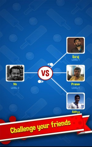 Android Cricket Rockstar : Multiplayer Screen 17