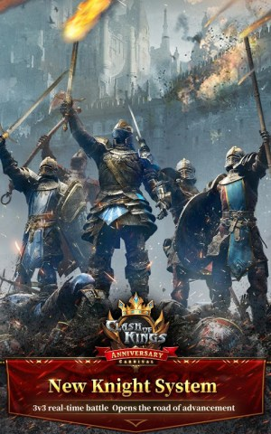 Clash of Kings : Newly Presented Knight System 6.11.0 Screen 9
