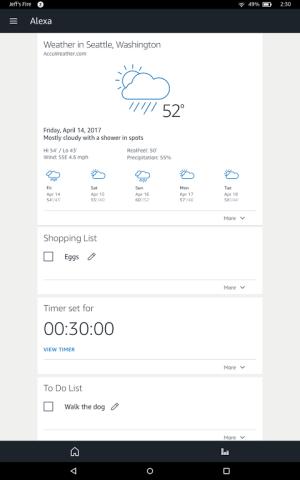 Alexa 2.1.366.0 Screen 4
