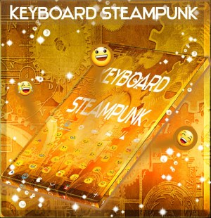 Android Steampunk Keyboard GO Screen 2