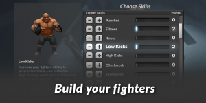 MMA Manager 0.6.13 Screen 2