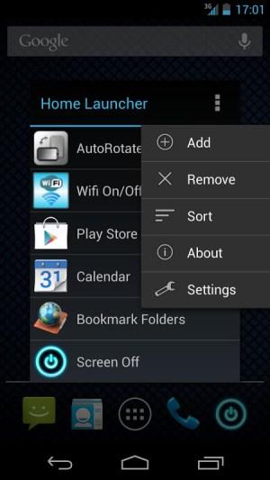 Home Button Launcher 8.2 Screen 1