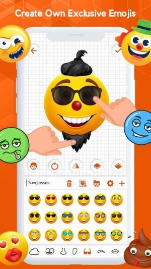 Android Emoji Keyboard - Emoji Maker, WASticker, Emoticons Screen 11