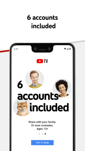 Android YouTube TV - Watch & Record Live TV Screen 7