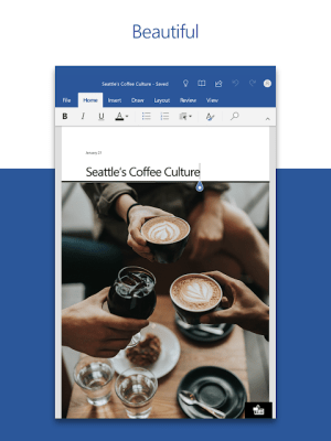 Microsoft Word: Write and edit docs on the go 16.0.13628.20214 Screen 3