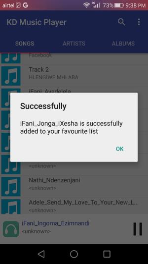 KD Music Player 2.1 Screen 2