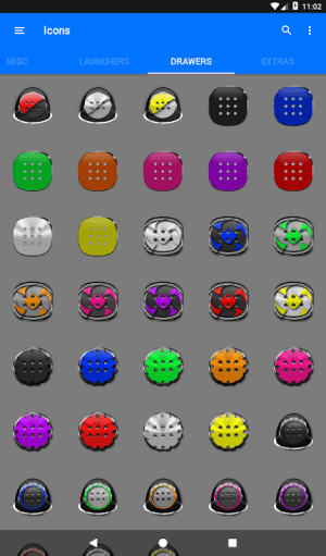 Black Icon Pack Free 3.9 Screen 5