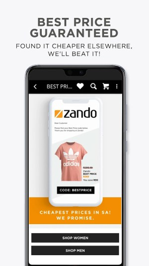 Online Shopping - Fashion - Zando.co.za 2.0 Screen 4