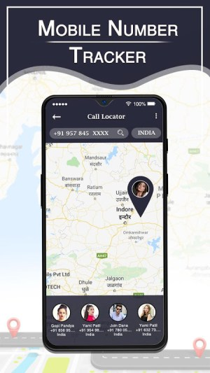 Mobile Number Location Tracker : Phone No. Tracker 1.3 Screen 1