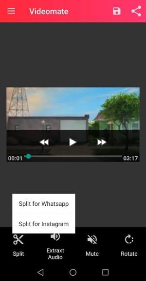 Videomate Video Splitter For Whatsapp Status Apks