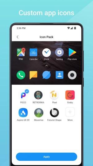 Mint Launcher 1.1.4.10 Screen 3