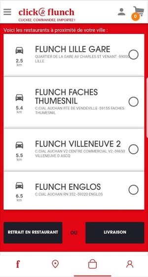 Flunch 4.5.0 Screen 1
