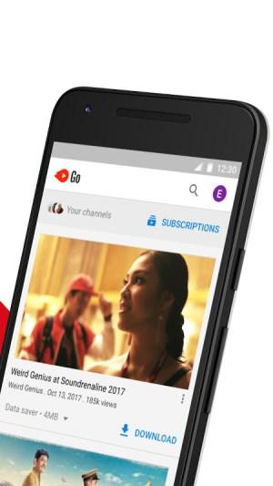 YouTube Go 3.12.52 Screen 1
