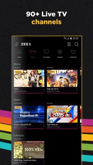ZEE5 - Movies, TV Shows, LIVE TV & Originals 11.2.129 Screen 2