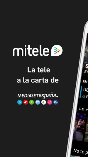 Mitele Android TV - Televisión a la carta 1.0 Screen 1
