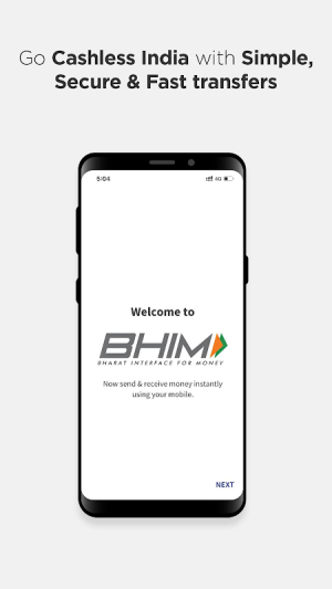 Android BHIM - MAKING INDIA CASHLESS Screen 4