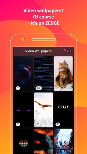 Android ZEDGE™ Wallpapers & Ringtones Screen 4