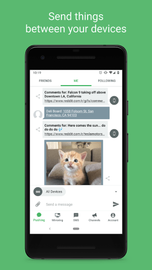 Pushbullet - SMS on PC and more 18.2.31 Screen 14