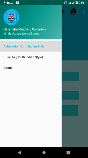 Android Nakshatra Matching Calculator | Kundli Milan Screen 5