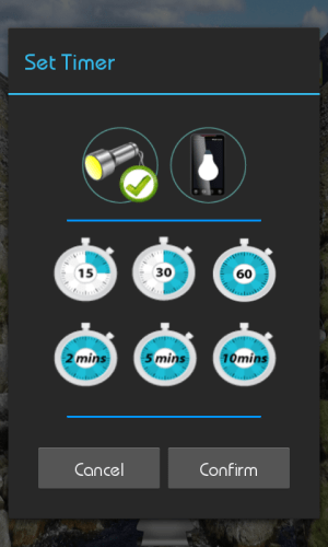 Android Pulsar 3 in 1 Flashlight Screen 5