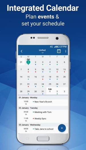 Blue Mail - Email & Calendar - Mailbox 1.9.6.10 Screen 9