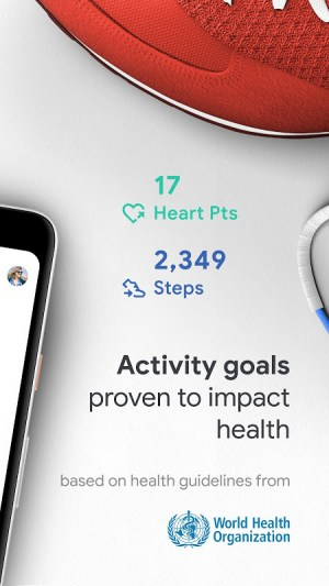Google Fit: Health and Activity Tracking 2.46.22-230 Screen 1