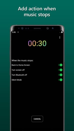 Sleep Timer for Spotify and Music 1.0.8 Screen 1