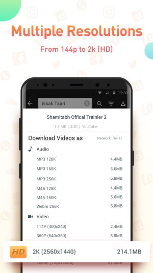 Youtube Video Downloader - SnapTube Pro 4.27.11.36 Screen 2