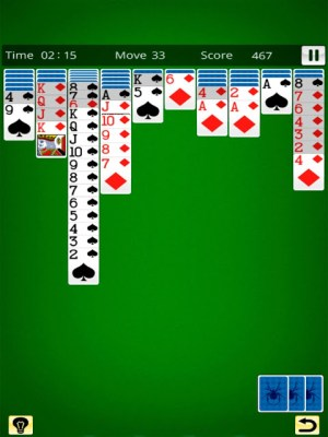 Spider Solitaire King 19.11.30 Screen 1