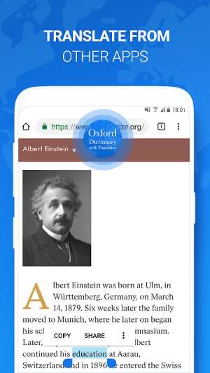 Android Оxford Dictionary with Translator Screen 2