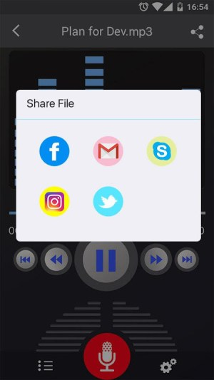 Voice Recorder 45 Screen 7