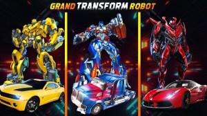 Grand Robot Car Transform 3D Game 1.32 Screen 2