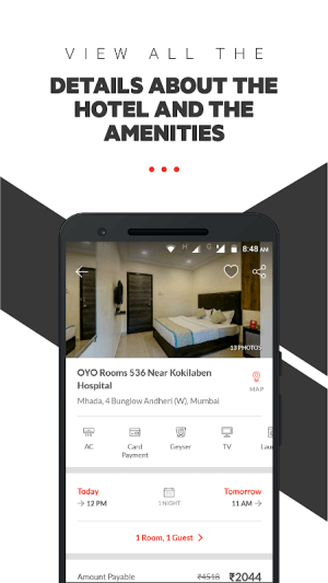 OYO: Find Budget Hotels, Book Rooms & Save Money 4.4.52 Screen 3